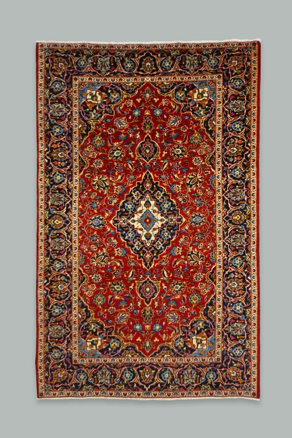 Kashan Rug 255x149
