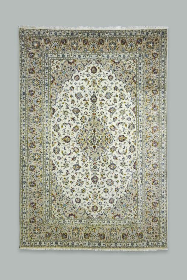 Kashan Handmade rug 303x202