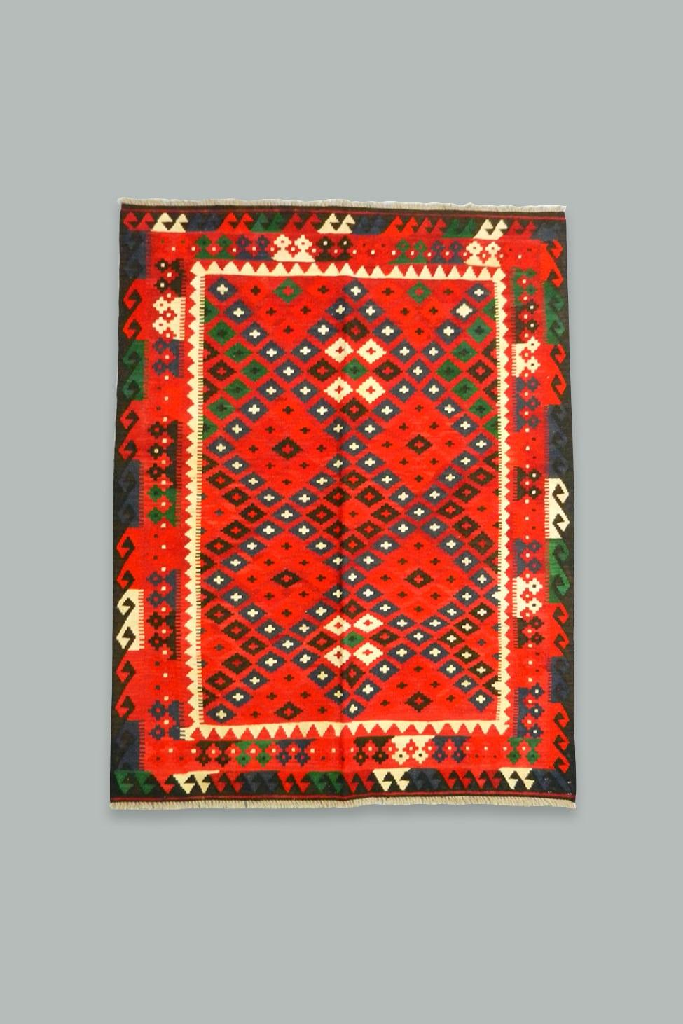 Maimana kilim rugs 203x158